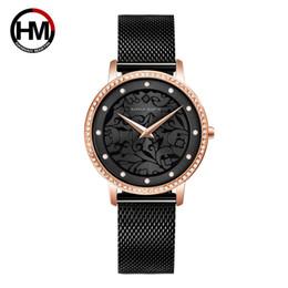 $enCountryForm.capitalKeyWord Australia - Top Brand Luxury Ladies Crystal Dress Wrist Watches Women Bracelet Watch Fashion 3D Sculpture Quartz Watch Steel Mesh Clock Gift