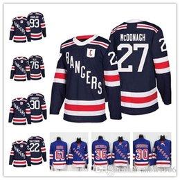 2018 Winter Classic NY New York Rangers Jerseys Hockey 36 Mats Zuccarello  27 Ryan McDonagh Lundqvist Kevin Shattenkirk Brady Skjei Zibanejad 6027555b1