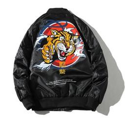 Head Jackets Australia - good quality Ma1 Bomber Jacket Tiger Head Mens Spring Jackets Men Anorak Jaqueta Masculina Casaco Masculino Coat