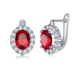 $enCountryForm.capitalKeyWord UK - High quality fashion ladies crystal earrings Inlaid colored cubic zircon round engagement earrings Support wholesale 5-ER0273