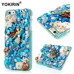 white diamond galaxy s5 case Australia - wholesale 3D Handmade Diamond Case For iPhone 5 5S SE 6 6 Plus Hard PC Rhinestone Cover For Samsung Galaxy S7 S6 Edge S5 S4