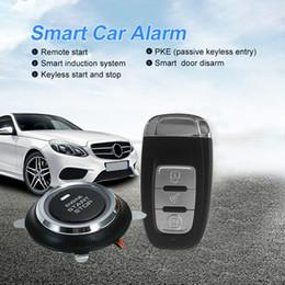 $enCountryForm.capitalKeyWord Australia - Security Car alarm system with PKE passive keyless entry remote engine start keyless go system push button starter Car Styling Accessories