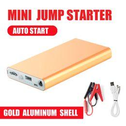 $enCountryForm.capitalKeyWord Australia - Aluminum shell Mini Portable 12V Car Battery Jump Starter Auto Jumper Engine Power Bank Starting power bank