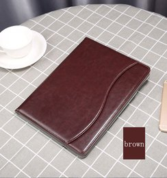 China Wallet Leather Australia - Tan Leather Wallet Stand Flip Case Smart Cover for New iPad 2017 18 2019 Air 2 3 4 5 6 7 Air Air2 Pro 10.5 9.7 inch Mini5 Mini2 Mini3 Mini4