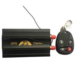 Gsm Gprs Gps Australia - COBAN GPS103B+ TK103B+ GSM GPRS GPS car gps Tracker for Vehicle tracker with remote control Fuel sensor Central locking relay