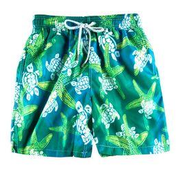 3493e2ce08 2019 Vilebre Brand Men Board Shorts Turtle Bermuda Beach Boxer Trunks  Shorts 100% Quick Drying Men's Swimwear Swimsuits