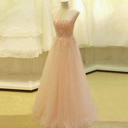 prom dresses beautiful Australia - NBS032 Custom Made New Coming Beautiful Evening Dress Formal Dress A Line Girls Party Prom Gowns Long Elegant 2019