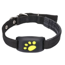 pet tracker smallest UK - Dog Collar with GPS Trackers Adjustable Straps Pet Base Collar GPS Locator Smart Anti-fall Wireless Dog Monitor Finder