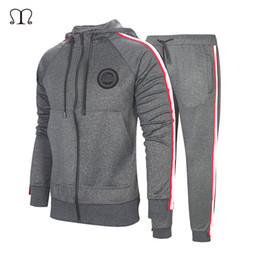 $enCountryForm.capitalKeyWord Australia - Tracksuit For Men 2 Pieces Set New Fashion Jacket Sportswear Men Tracksuit Hoodie Spring Autumn Brand Clothes Hoodies+Pants
