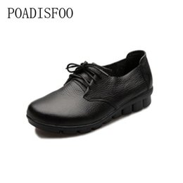 $enCountryForm.capitalKeyWord Australia - Designer Dress Shoes 2019 newHandmade leather women's soft cowhide mothers comfortable comfortable pregnant women workers .CSG-105