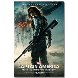 $enCountryForm.capitalKeyWord NZ - Captain America 2 The Winter Soldier Superheroes Movie Art Silk Poster 24x36inch 24x43inch 05