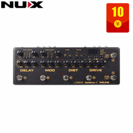 Analog Pedals Australia - NUX Cerberus Multi Function Effect Pedal Inside Routing IR Loader Analog Qverdrive Distortion 4 Cable Method Modulation Effects guitar pedal