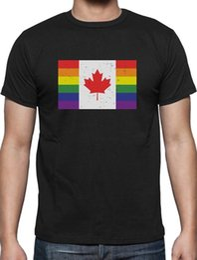 Cosplay Flags Australia - Pride Parade Gay & Lesbian Pride Rainbow Canada Flag T-Shirt Giftfear cosplay liverpoott tshirt