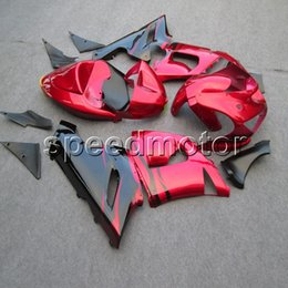 $enCountryForm.capitalKeyWord NZ - 23colors+Gifts red black motorcycle Fairings for Kawasaki ZX6R 2005 2006 ZX 6R 05 06 ABS Motorcycle cowl