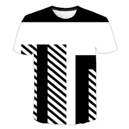 $enCountryForm.capitalKeyWord Australia - Women's Short Sleeve T-Shirt 2019 New European and American Style Swirl Abstract Art 3D Digital Print Short Sleeve Men and Women Wholesale