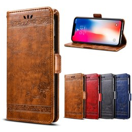 Iphone stand s online shopping - Retro Leather Case For iPhone X s Plus XS MAX XR Plus PU Leather Stand Cover Flip Cases For iPhone X Plus s Coque