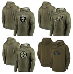 $enCountryForm.capitalKeyWord Australia - New Style Oakland Philadelphia Pittsburgh Francisco Men 49ers Steelers Eagles Raiders Olive  Sideline Pullover Hoodies