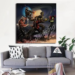 marvel room decor NZ - Marvel Super Heroes Movie Star-Lord Canvas Painting Oil Print Poster Wall Art Picture for Living Room Bedroom Kids Home Decor