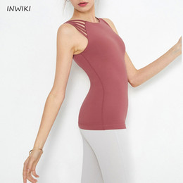 $enCountryForm.capitalKeyWord Australia - Quick Dry sportswear Gym Leggings Female T-shirt Costume Fitness Tights Sport Suit Top Sleeveless Yoga Set Women gym clothing #958984