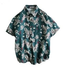 e966a9e8878d Dark Icon Full Printed Tropical Shirts Men 2019 Summer Hawaii Style Men's Shirts  Beach for Man Men's Short Sleeve
