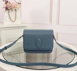 $enCountryForm.capitalKeyWord Australia - designer Handbag black white red blue Genuine Leather Handbags 0718 high quality Handbags mini saddle bag women Shoulder Bags free shipping