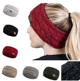 a6cf867b3e71c Black ear warmer headBand online shopping - Women Knitted Cable Headband  Brand Winter Headwrap Hairband Crochet
