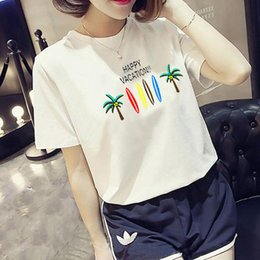 $enCountryForm.capitalKeyWord UK - Bigsweety Vintage Stripped T Shirt New Fashion Clothes for Women Summer Tops Letter 90's Baby Printed Tshirt Harajuku Streetwear
