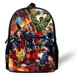 12inch Infantil Kids Escolares Mochila Marvel Avengers Backpack School Bag  Children School Bags Boys Bookbag Gift Girls Toddler  31039 55687e7ec48a8