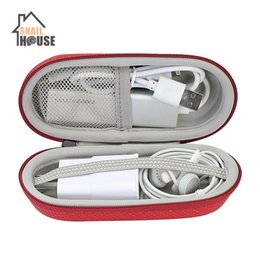 $enCountryForm.capitalKeyWord Australia - Snailhouse Travel Case Elliptical Portable EVA Storage Bags Carrying Hand Headphone Cases Cellphone USB Charger Cable Zipper