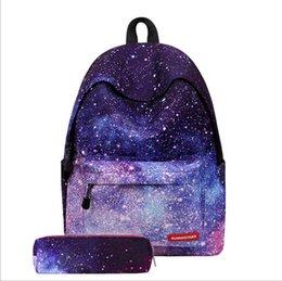 Starry Sky Backpack NZ - Cute Starry Sky School Student Backpacks Teenagers Travel Durable Large Capacity Backpacks High quality Designer Handbags Computer Backpacks