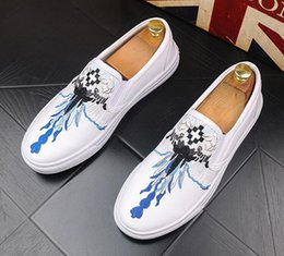 $enCountryForm.capitalKeyWord Australia - European station tide men's casual shoes Korean version of a pedal lazy Lok Fu youth embroidery men's shoes wild tide