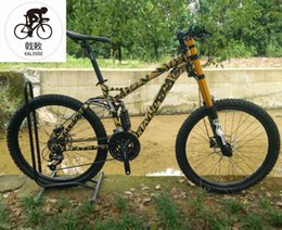 bicycle 27 NZ - Kalosse 20X110mm barrel shaft Downhill mountain bike Hydraulic brakes 24 27 30 speed 26er DH bike bicycle