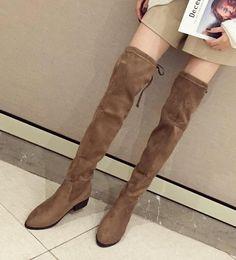 $enCountryForm.capitalKeyWord Australia - Hot Sale-ViVi Lena Rabbit Hair Fur Lovely Over Knee High Boots Platform Wedges Heels Long Boots Black Grey