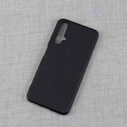 Cell Phone Case Galaxy Noted NZ - For Huawei P30 Honor Mate 20 Pro Iphone XS Samsung Galaxy A90 S10 Plus Matte Frosted Rubber Black TPU Cell Phone Case Cover
