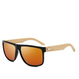 Chinese  AHW01 2019 Wood Sunglasses Bamboo Lens Men's New Fashion Quality China Manufacturers Wholesale Hot EYEWEAR FREE Shipping US USA Japan AU UK manufacturers