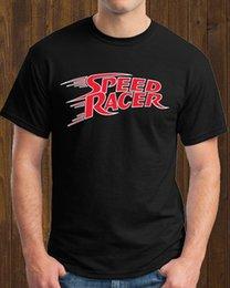 Speed S Australia - Manga Speed Racer Mach GoGoGo Anime Tshirt Black Size: S-to-XXL