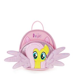 Cute Satchel Backpacks Australia - Angel Wings Unicorn Kids School Bags cute Cartoon Girls mini backpack designer kids backpack Fashion Girls Bags Satchel Bag Book Bag A4116