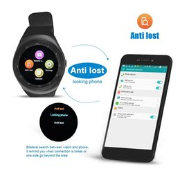 andriod smart watches Australia - Y1 Smart Watch 2020 Bluetooth Sim Card Watch Phone Band Smartwatch Fitness Sport Girls Round Smart Watch With Call For Andriod Mobile Phone