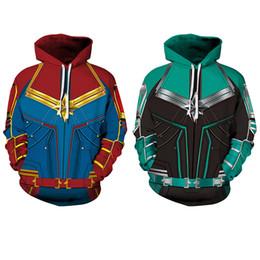 $enCountryForm.capitalKeyWord UK - Revenger Marvel Captain Digital Printed Couple Dress Long-sleeved Guard Loose Baseball Suit