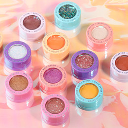 Dark green eyeshaDow online shopping - Magic Nation Matte Single Eyeshadow Waterproof Lating Palette Pigment Glitter Shimmer Eye Shadow Beauty Make Up Cosmetic Palette