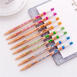 $enCountryForm.capitalKeyWord NZ - 2pcs Mechanical Pencils with Sharpener Kawaii Stationery Eco Friendly 2.0mm Automatic Pens School Office Press Penscil Kids Gift