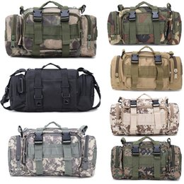 Styles Backpacks Australia - 10 Styles Tactical Waist Pack 3P Waterproof Oxford Cloth Outdoor Backpack Climbing Pouch Bags Durable Sport Bags for Camping Hiking G579F