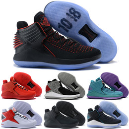 ff54763c7230e Pure Platinum Jumpman 32 32s XXXII Mens Kids Basketball Shoes Bred Camo  Like Mike Why not Russ MVP Rosso Corsa Jade Outdoor Sports Sneakers