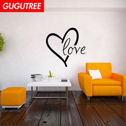 $enCountryForm.capitalKeyWord Australia - Decorate Home love heart cartoon art wall sticker decoration Decals mural painting Removable Decor Wallpaper G-2030