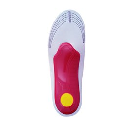 health print 2019 - Unisex Sports Shoes Insole Women Men Orthopedic Insole Flat Foot Health Care Sole Pad Shoes Arch Support Cushion Pads di