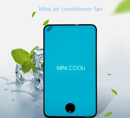 Fans Work Australia - Newest Portable Mini Fan Rechargeable Colorful Leafless Fan Air Conditioner Electric Fan Outdoor Work Travel Sports Cooler Fans