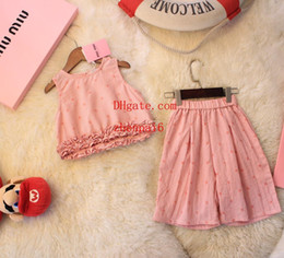$enCountryForm.capitalKeyWord NZ - kids brand clothes girls Little baby girls Cotton sleeveless tank top shorts causal summer dresses kids Clothing sets baby girl clothes