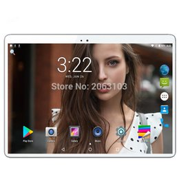 GooGle play phones online shopping - 2 D Tablet Octa core Inch G RAM GB ROM in1 Tablet with phone Ful HD PC Google Play Android Nougat