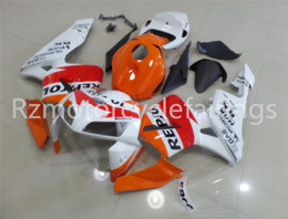 kit motorcycles for sale Canada - Hot sales Injection molding New ABS Motorcycle Full Fairing Kit Fit For CBR600RR F5 2005 2006 Bodywork set Free custom White Red