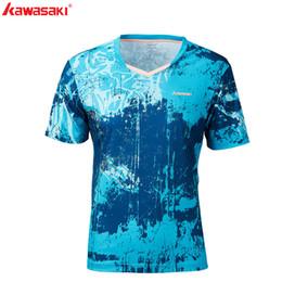 $enCountryForm.capitalKeyWord Australia - 2019 Kawasaki Breathable Badminton T-Shirt For Men Quick Dry Short-Sleeve Tennis T Shirts For Male Sportswear ST-S1120